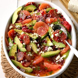 Blood Orange Avocado Salad