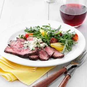 Blue Cheese Flat Iron Steak