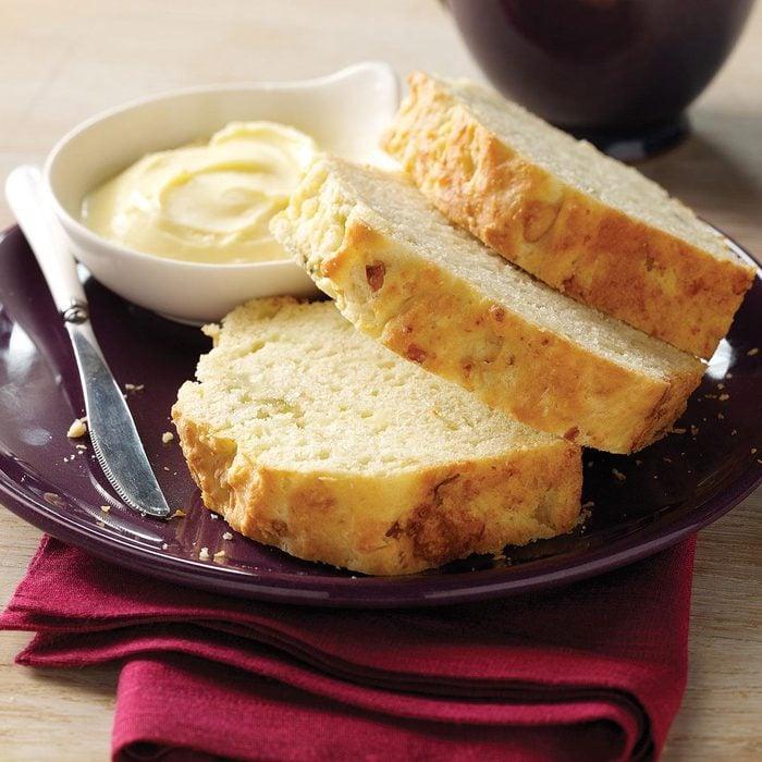 Blue Cheese & Shallot Bread