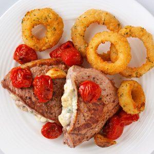 Blue Cheese-Stuffed Steaks