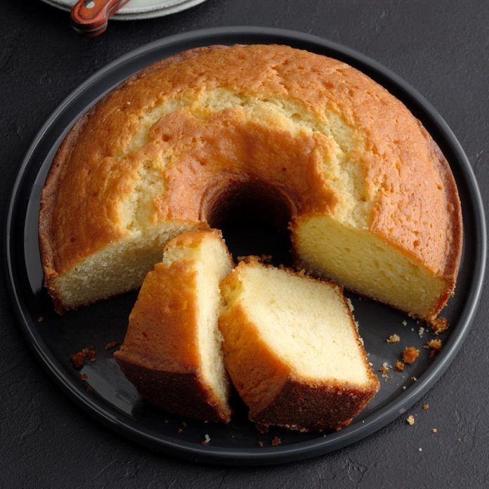 Blue-Ribbon Butter Cake