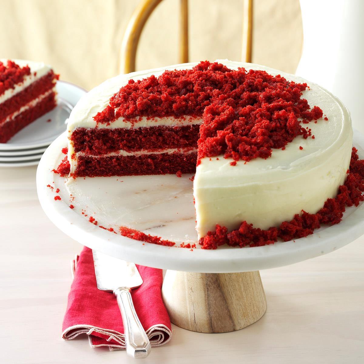 Blue Ribbon Red Velvet Cake