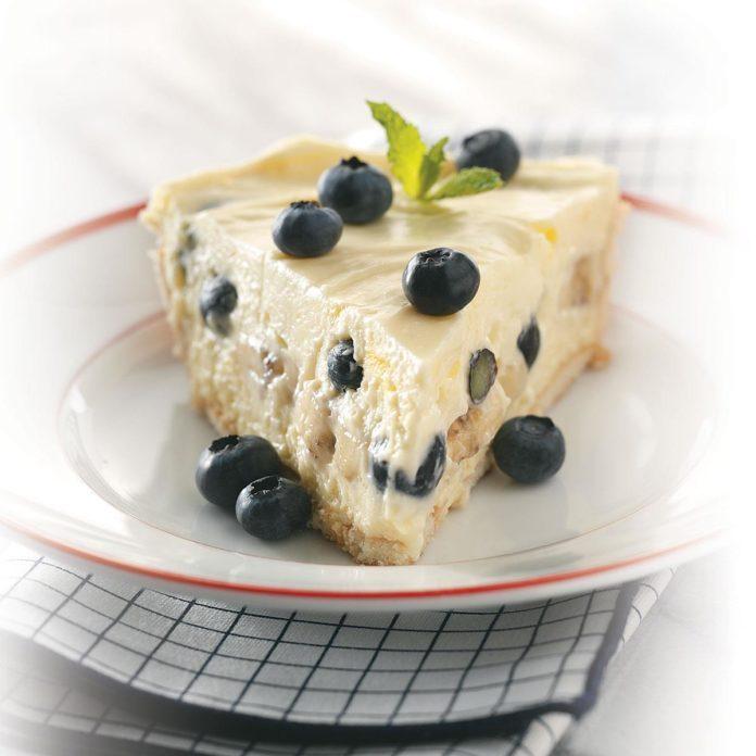 Blueberry Banana Cream Pie
