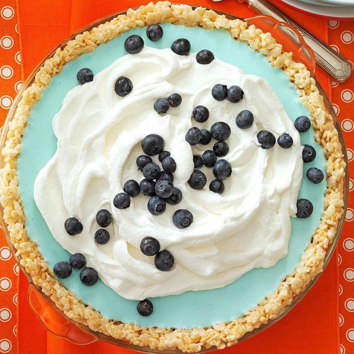 Blueberry Cloud Pie