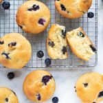 Blueberry Cream Muffins