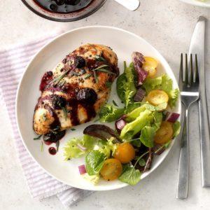 Blueberry-Dijon Chicken