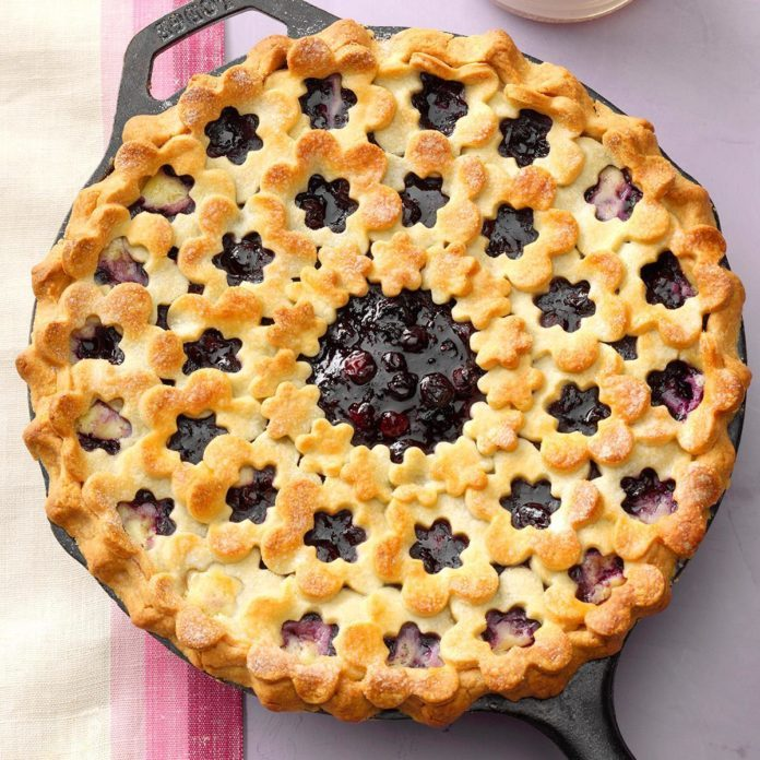 Blueberry Dream Pie