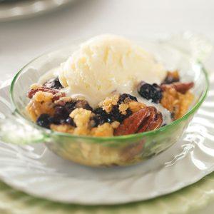 Blueberry-Pecan Crisp