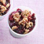Blueberry-Rhubarb Crisp