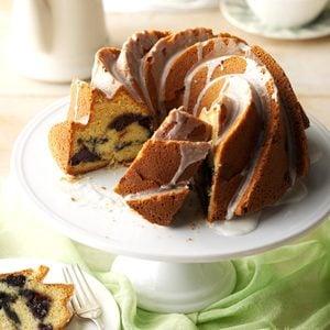 Blueberry Sour Cream Coffee Cake