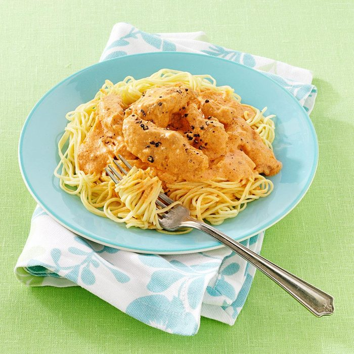 Blushing Angel Hair Pasta With Chicken Exps70669 Sd2401788a06 07 8bc Rms