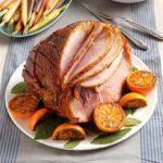 Bourbon Baked Ham