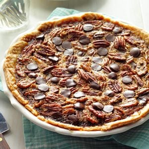 Bourbon Chocolate Pecan Pie