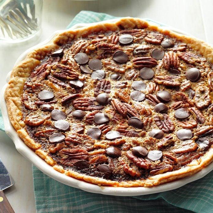 Kentucky: Bourbon Chocolate Pecan Pie