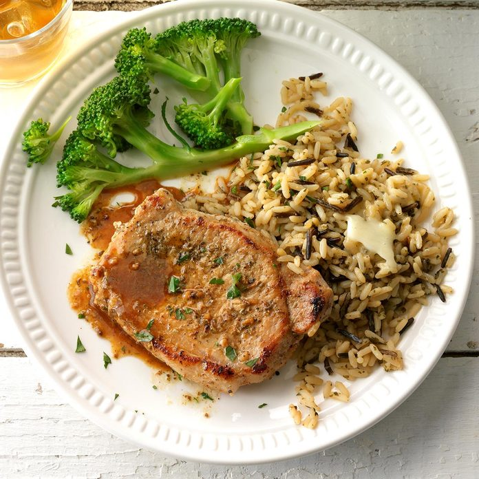 Day 15: Braised Pork Loin Chops