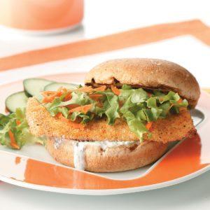 Breaded Fish Sandwiches