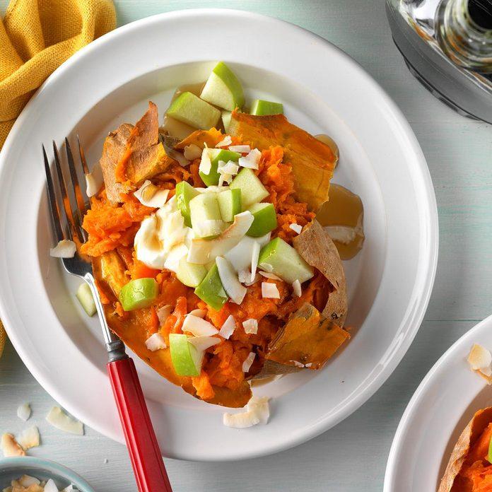 Breakfast Sweet Potatoes