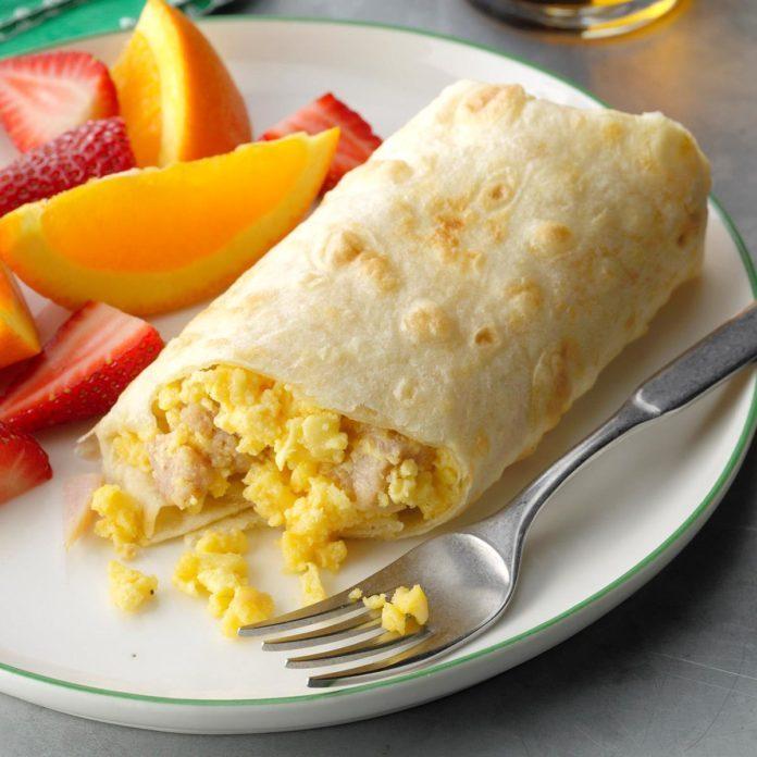 Breakfast Wraps