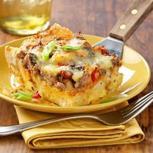 Brie and Sausage Brunch Bake