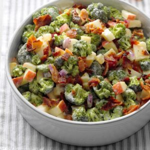 Broccoli and Apple Salad
