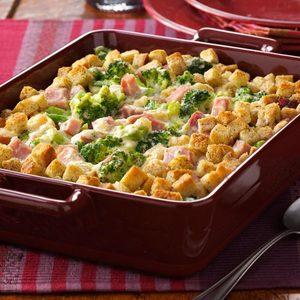 Broccoli Ham Bake