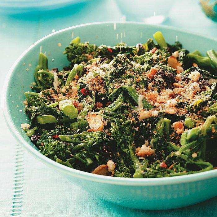Broccoli Rabe with Tuscan Crumbs