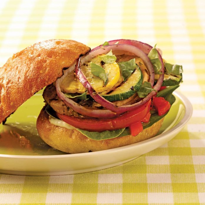 Broiled Vegetable Sandwiches