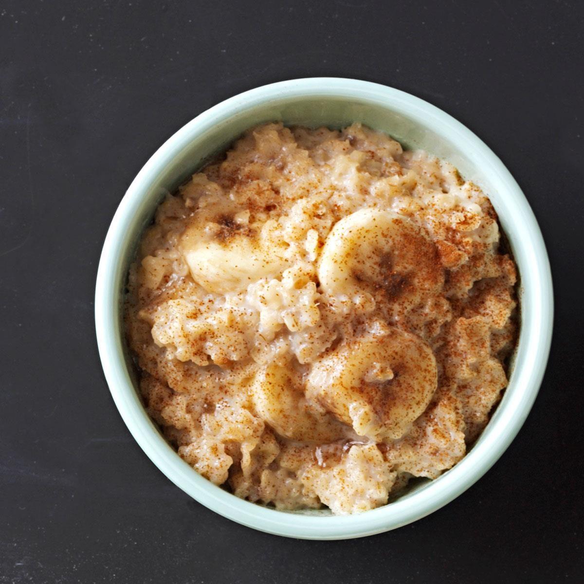 Brown sugar banana oatmeal