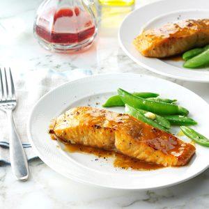 Brown Sugar-Glazed Salmon