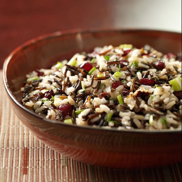 Brown and Wild Rice Salad