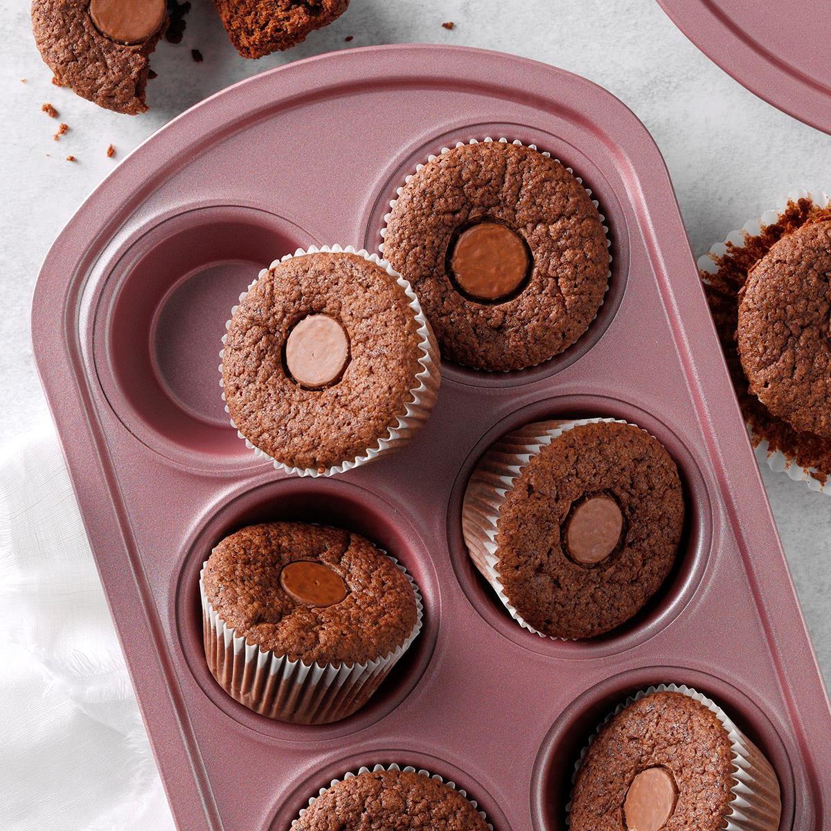 Brownie Kiss Cupcakes