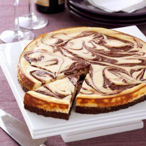 Brownie Swirl Cheesecake