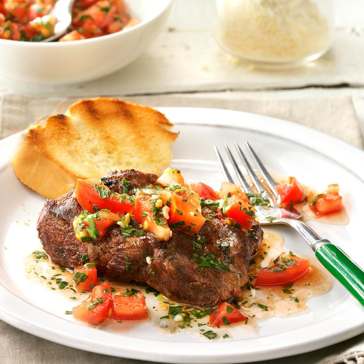 Bruschetta Steak