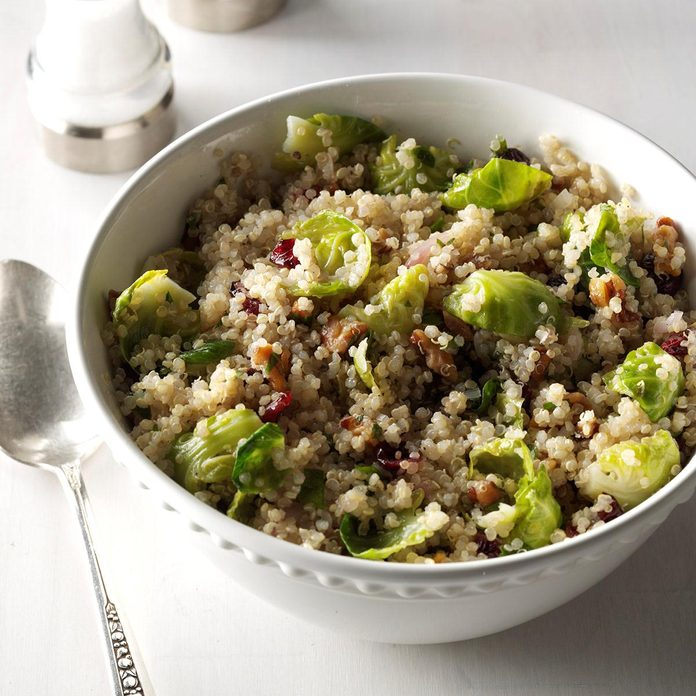 Brussels Sprouts & Quinoa Salad