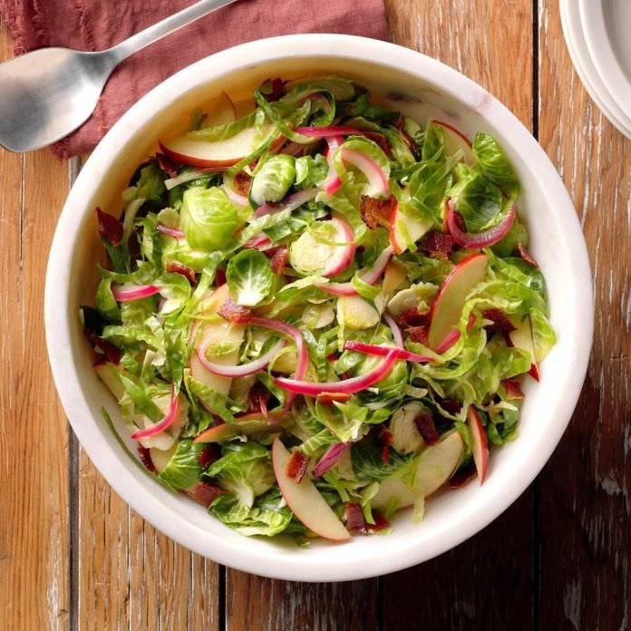 Brussels Sprouts with Bacon Vinaigrette