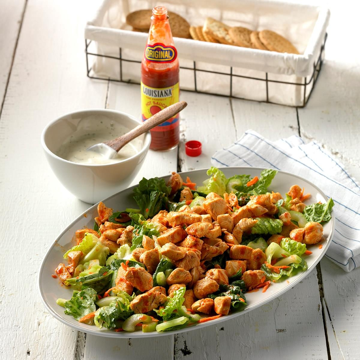 Inspired by: Bojangle's Roasted Chicken Bites Salad