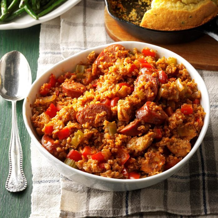 Day 2: Bulgur Jambalaya