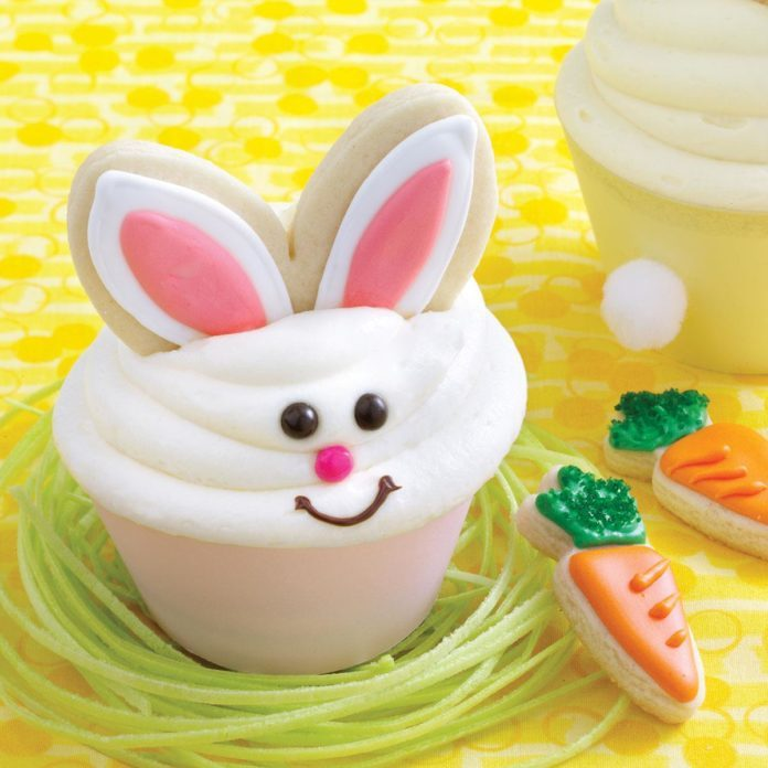 Bunny Carrot Cakes & Cookies