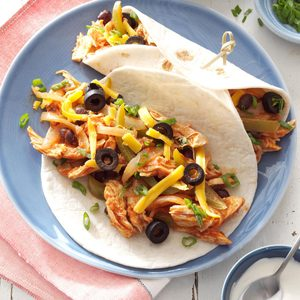 Busy-Day Chicken Fajitas