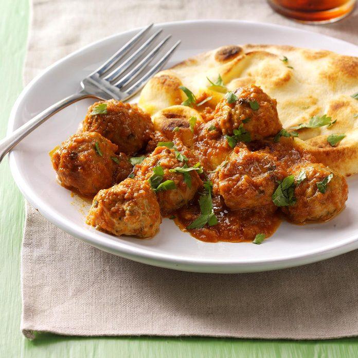 Day 1: Butter Chicken Meatballs
