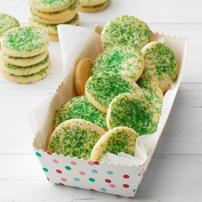 Butter Mint Cookies