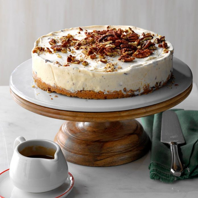 Butter Pecan Ice Cream Torte