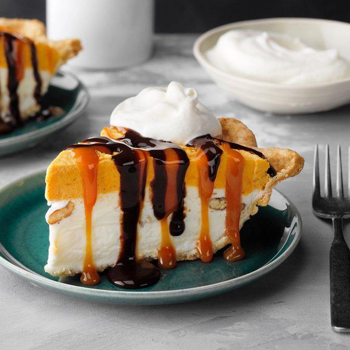 Butter Pecan Pumpkin Pie
