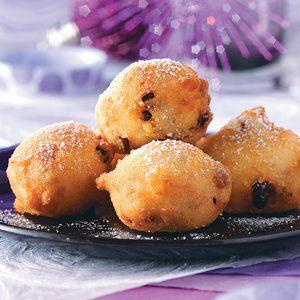 Buttermilk Berry Fritters