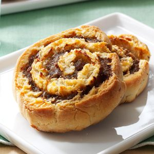 Buttermilk Biscuit Sausage Pinwheels