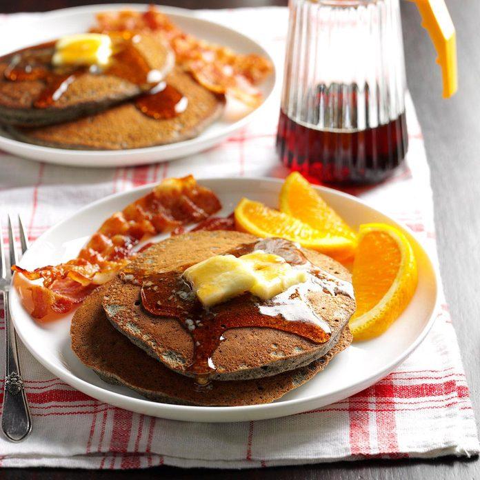 Buttermilk Buckwheat Pancakes