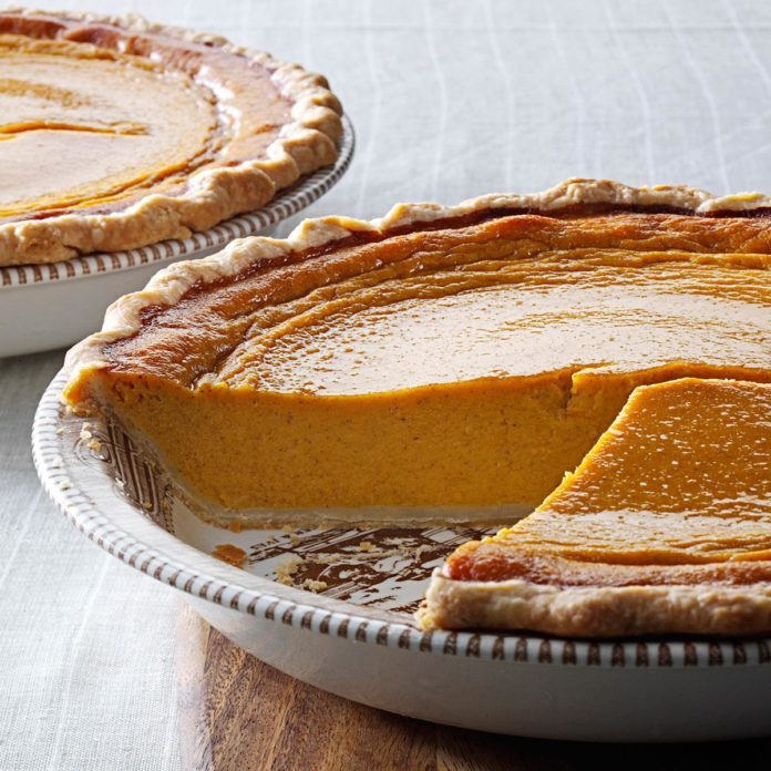 Butternut-Sweet Potato Pie