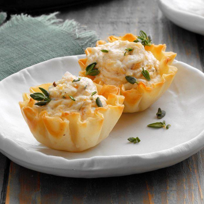 Butternut Thyme Tartlets