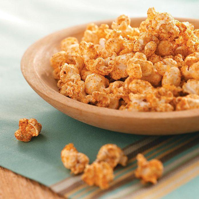 Buttery Cajun Popcorn