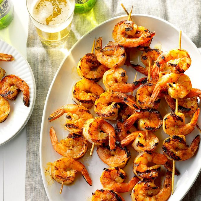 Buttery Grilled Shrimp